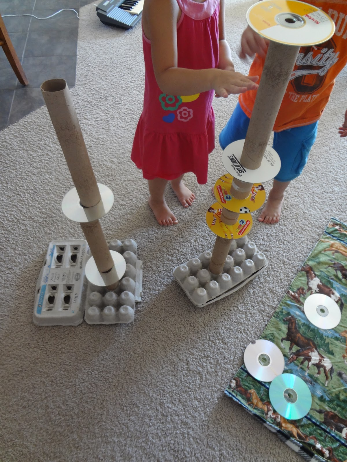 preschool material time for play a building challenge 716