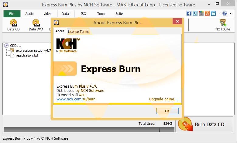 Express Burn Plus 4.76