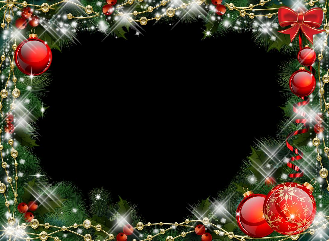 5 bonitos marcos para fotos de navidad en png y delicados for Xmas decorations online