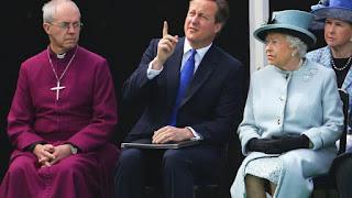 Welby, Cameron, Queen Elizabeth II