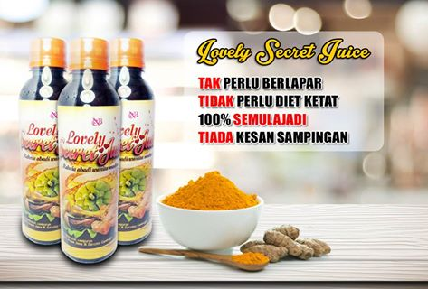 JUS KUNYIT LOVELY SECRET JUICE