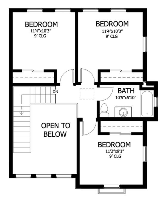 Home and garden new plan villa idea new plan villa for Second floor design plans