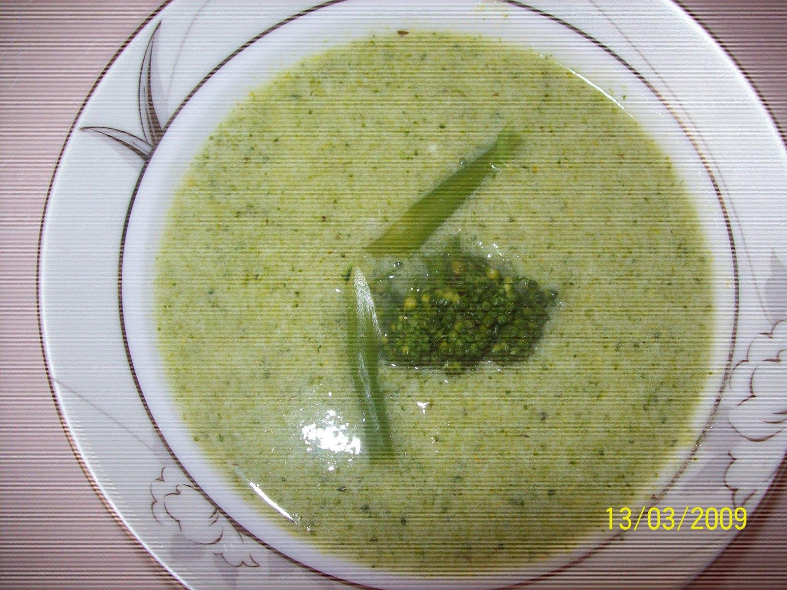 Brüksel Lahanası Çorbası