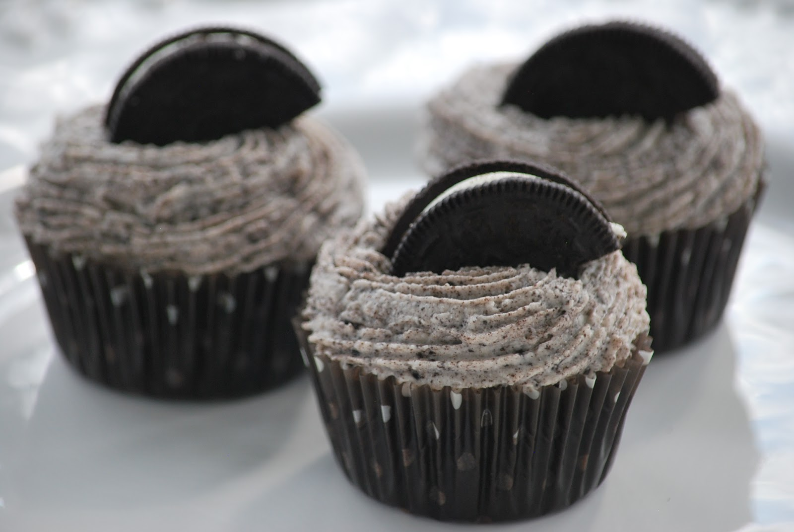 My story in recipes: Oreo Cupcakes