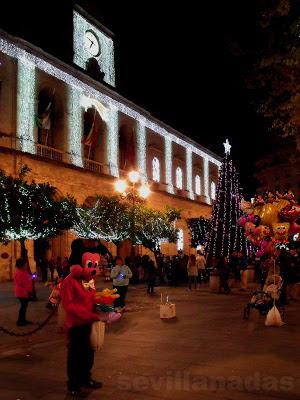 Plaza Nueva Navidad 2012 Sevilla