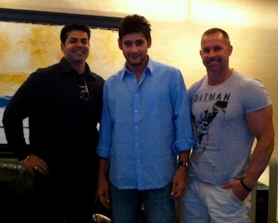 Mahesh Babu spotted with Mike Ryan, his fitness trainer