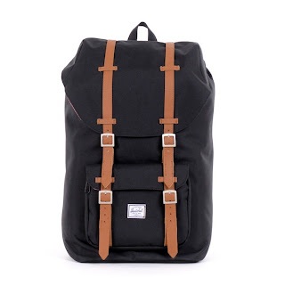 Herschel Supply co. Little America backpack black