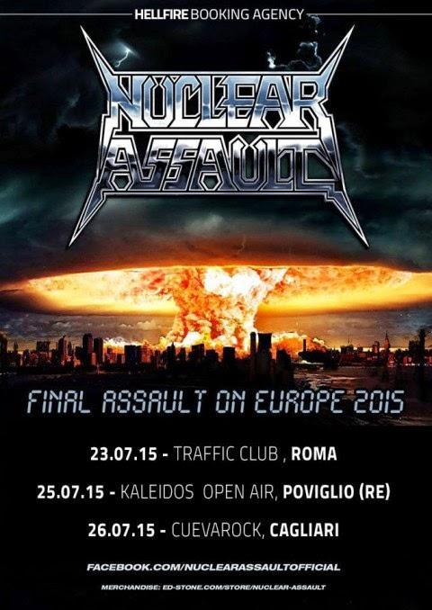 nuclear assault - italia - 2015