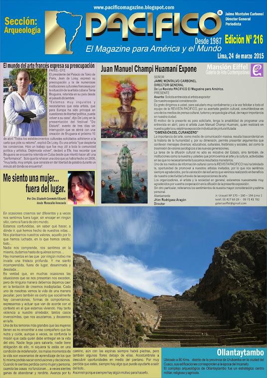 Revista Pacífico Nº 216 Arqueología
