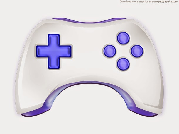 Gamepad Icon PSD