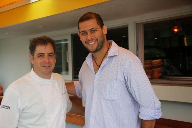Chef Mark Zeitouni  y Carlos De La Fuente. Blog Esteban Capdevila