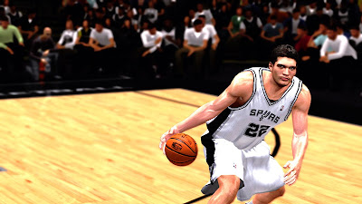 NBA 2K13 Tiago Splitter Player Face Update