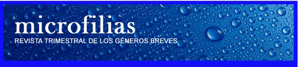 REVISTA TRIMESTRAL DE LOS GÉNEROS BREVES