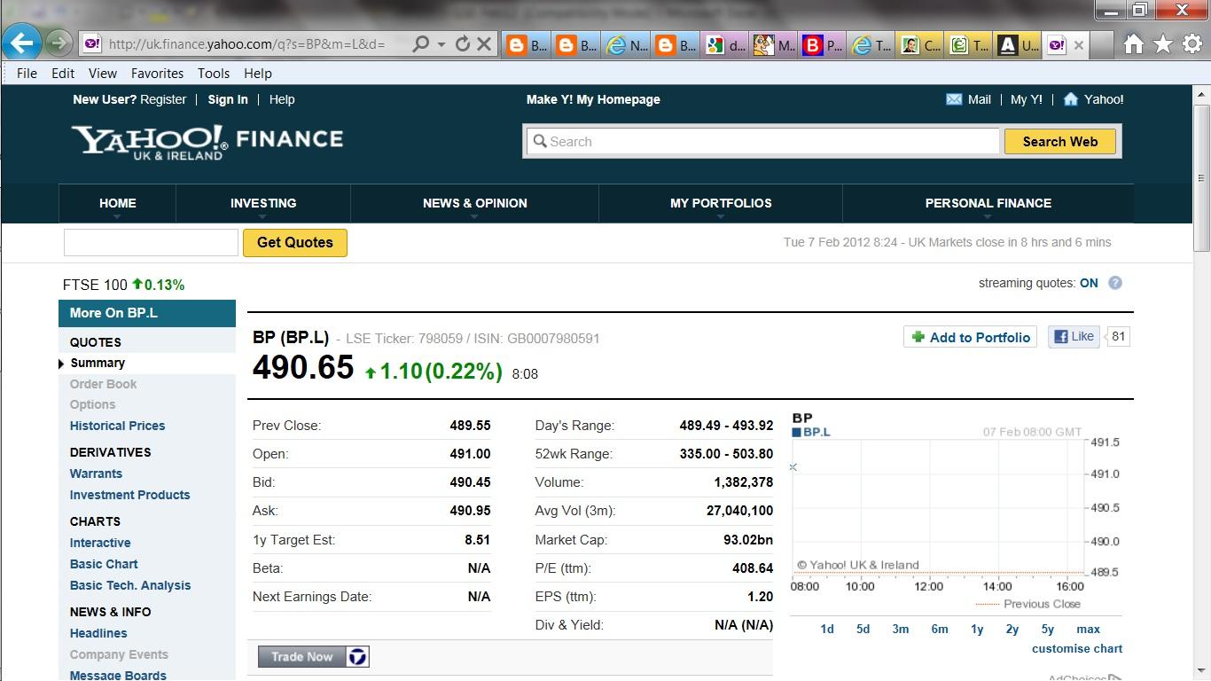 DIY Income Investor: Excel Tutorial: Scrape a Share Price!: www.the-diy-income-investor.com/2012/02/excel-tutorial-scalp-share...