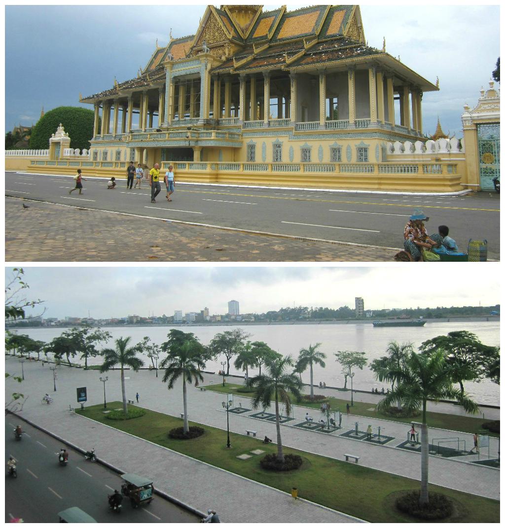 zona turística de Phnom Penh