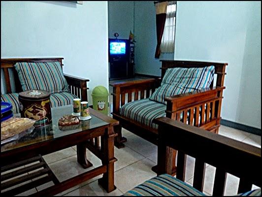 Ruang tamu Geano Homestay Bromo