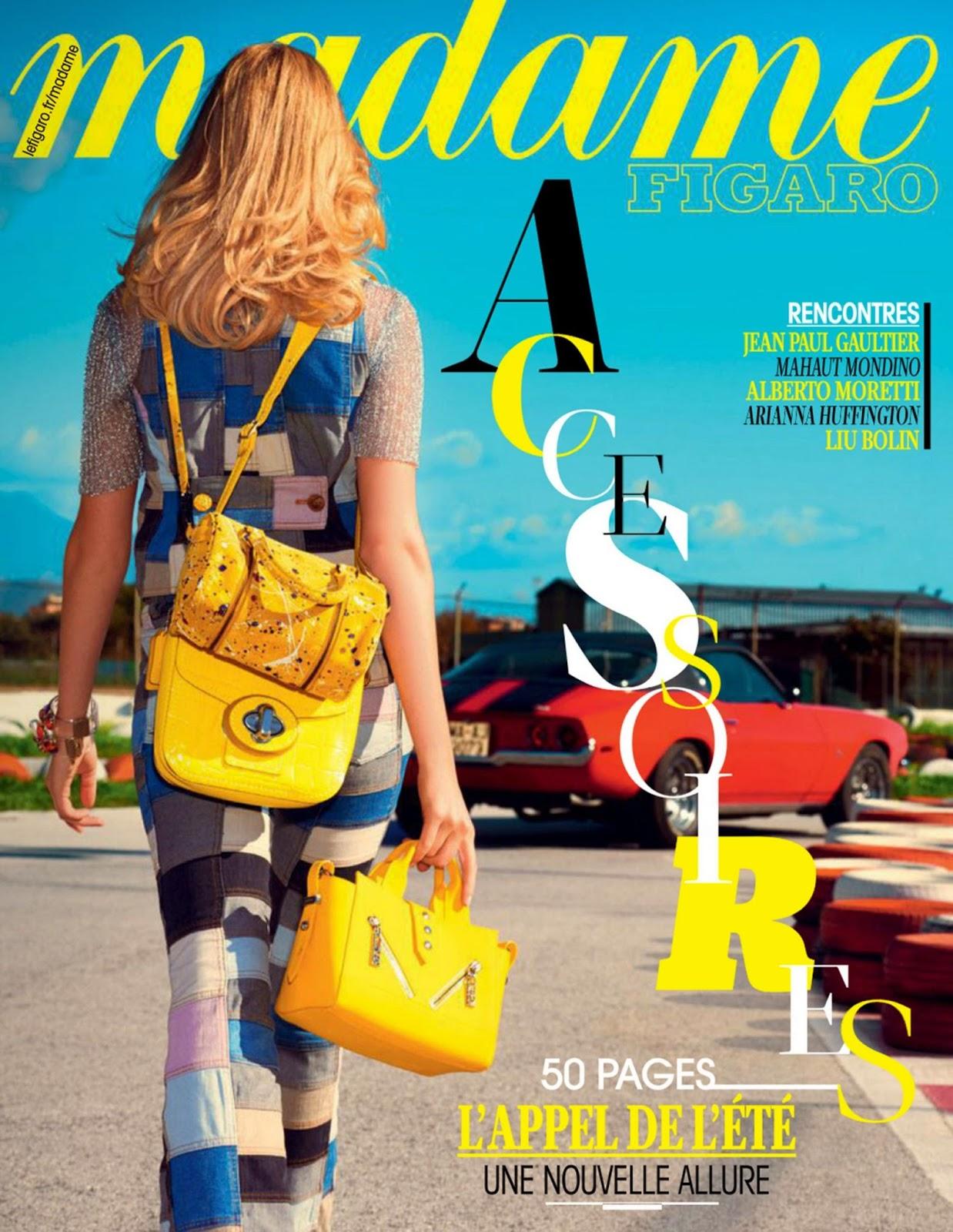Fashion Model @ Linnea Regnander - Madame Figaro  France, March 2015