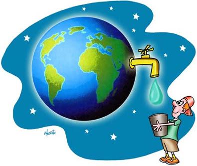 Planeta Água por Alecrim