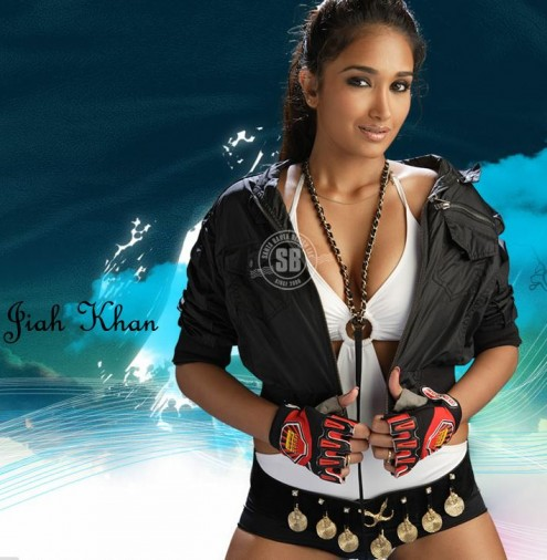 jiah khan deep cleavage