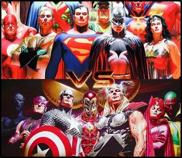Marvel Vs. DC: Quién va a sacar más películas?