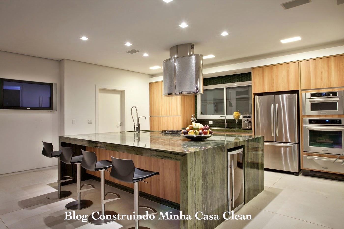 Cozinha Ampla Com Ilha Beyato Com V Rios Desenhos Sobre Id Ias