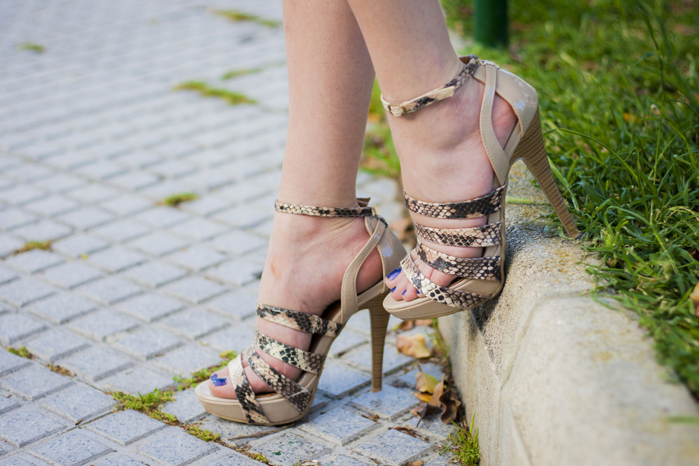 zapato de piton maria mare
