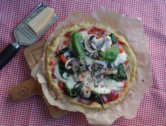 花椰菜披萨
