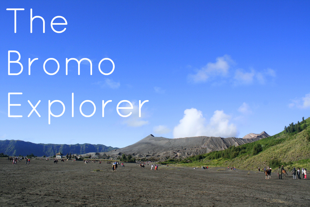 THE BROMO EXPLORER ON DELUXSHIONIST TRAVEL
