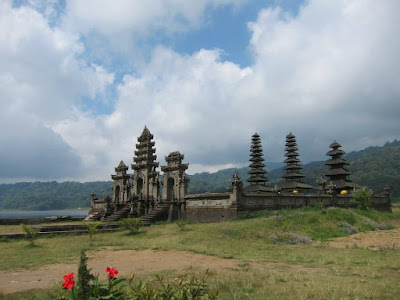 Temples Surrounding Tamblingan Lake North Bali