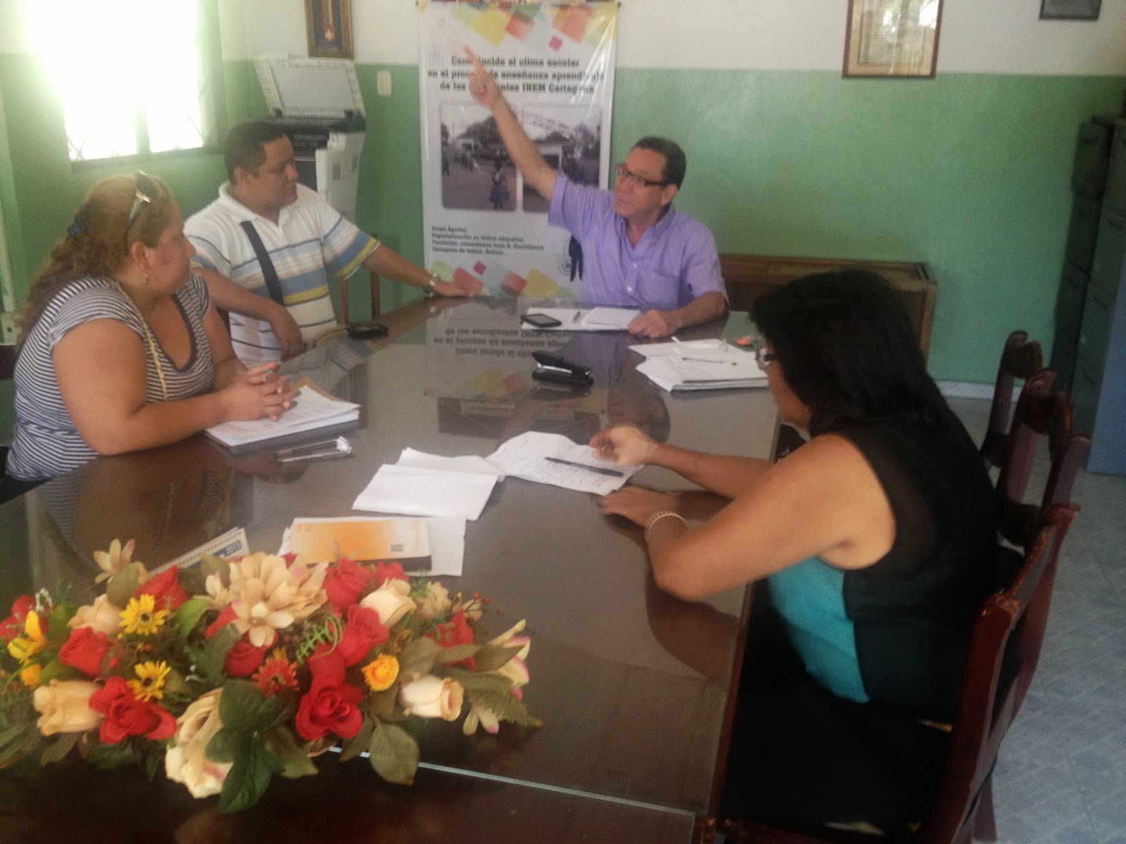 El INEM cartagena por una mejor gestión administrativa, financiera, académica y de convivencia.