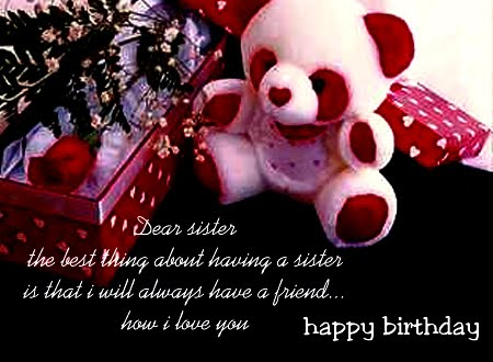 happy birthday for sister