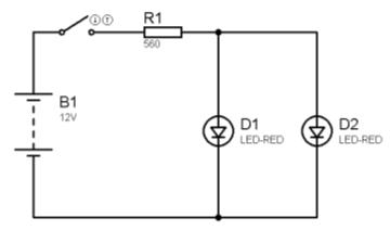 LED en paralelo 1