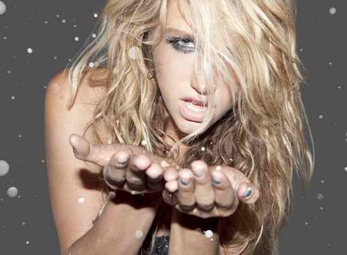 kesha without makeup. Ke$ha came on the scene and