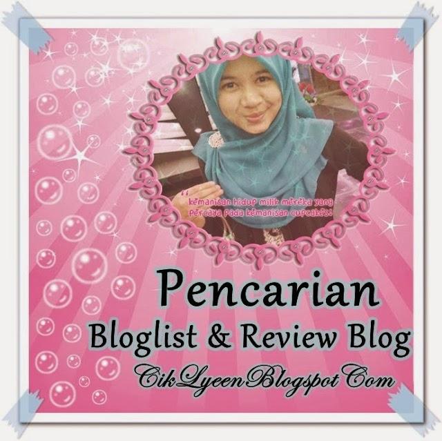 Pencarian Bloglist dan Review Blog