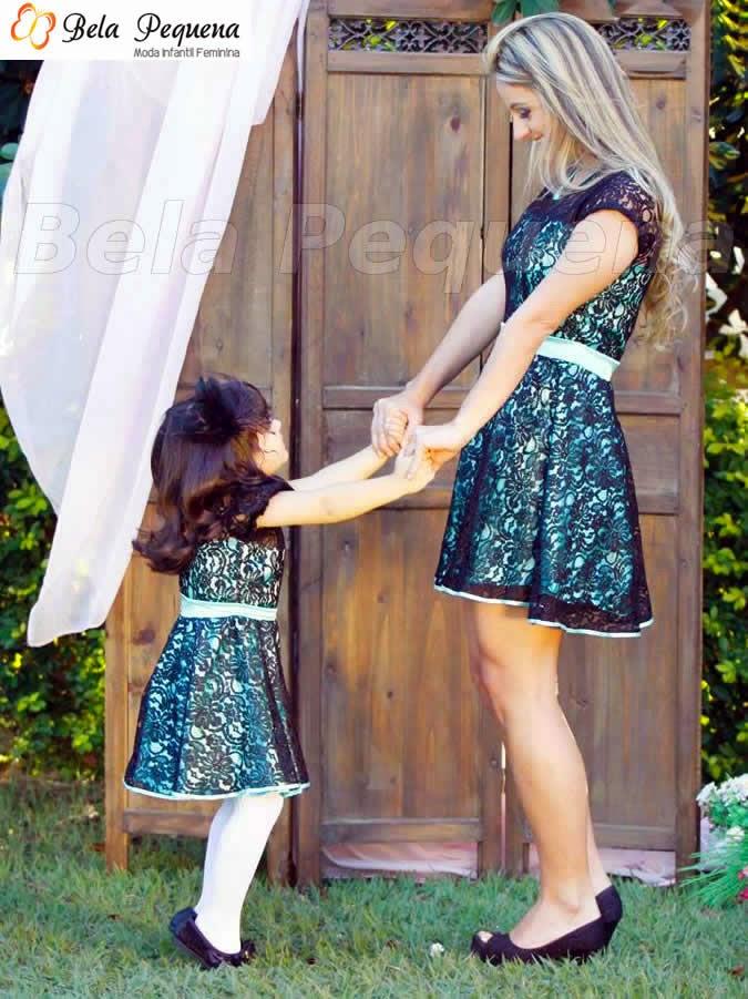 Moda mãe e filha - Coleção Mini Divas
