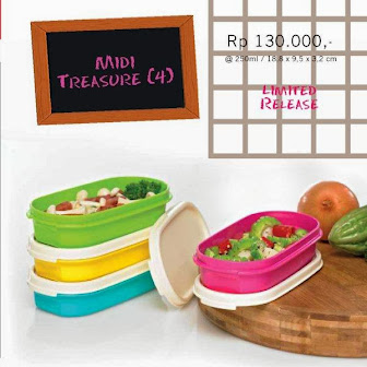 MIDI TREASURE TUPPERWARE