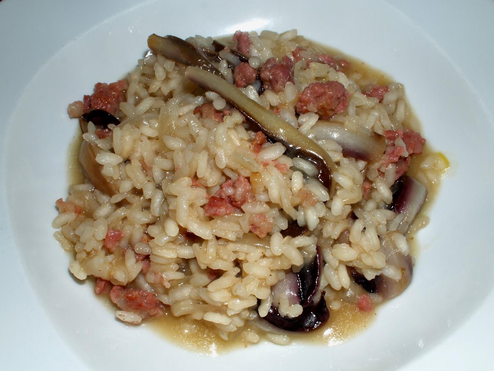 Cucinare per amore naturalmente risotto con la for Cucinare risotto