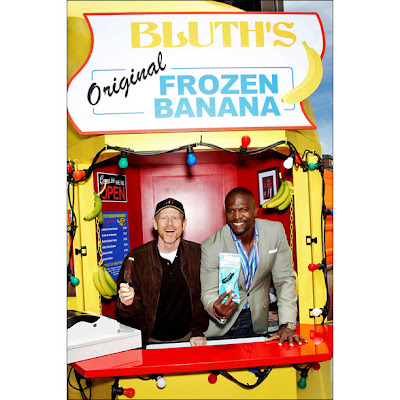 'Frozen banana POWER!!!,' exclaims Terry Crews.