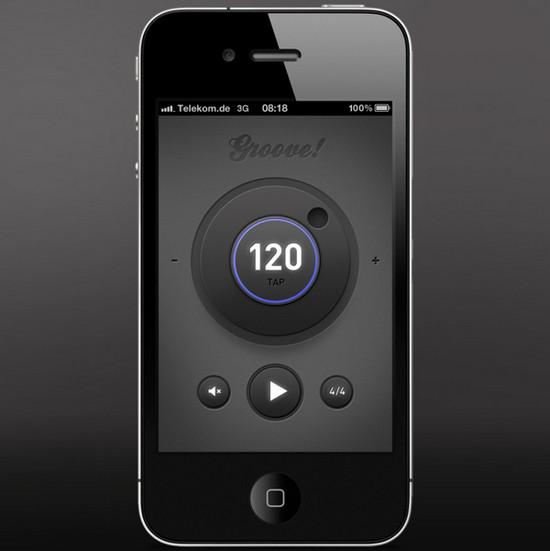 Groove iphone app