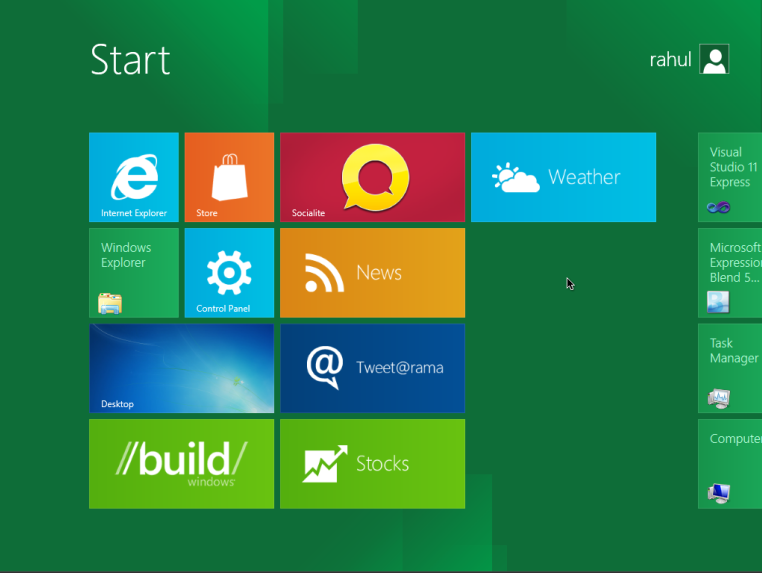windows 8 dp