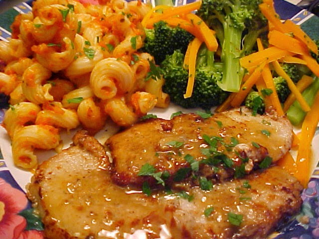 Escalopes de veau au citron