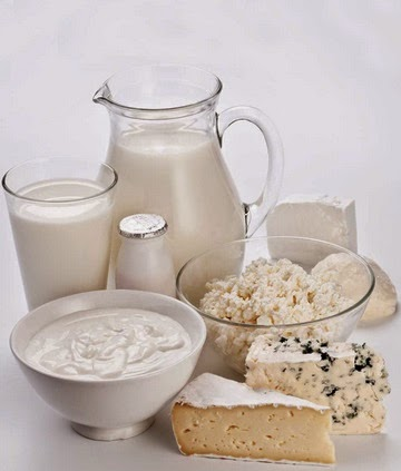 Los lácteos en la alimentación