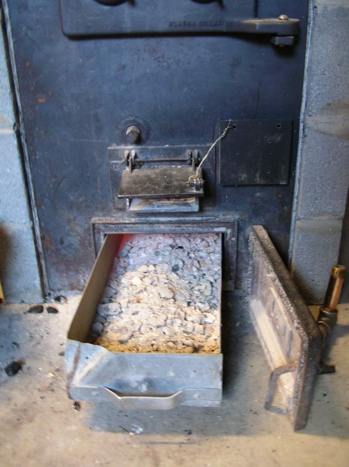 Robert's Projects: Alaska Kodiak coal stove