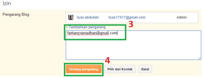 cara menambahkan pengarang dan admin di blogger-2