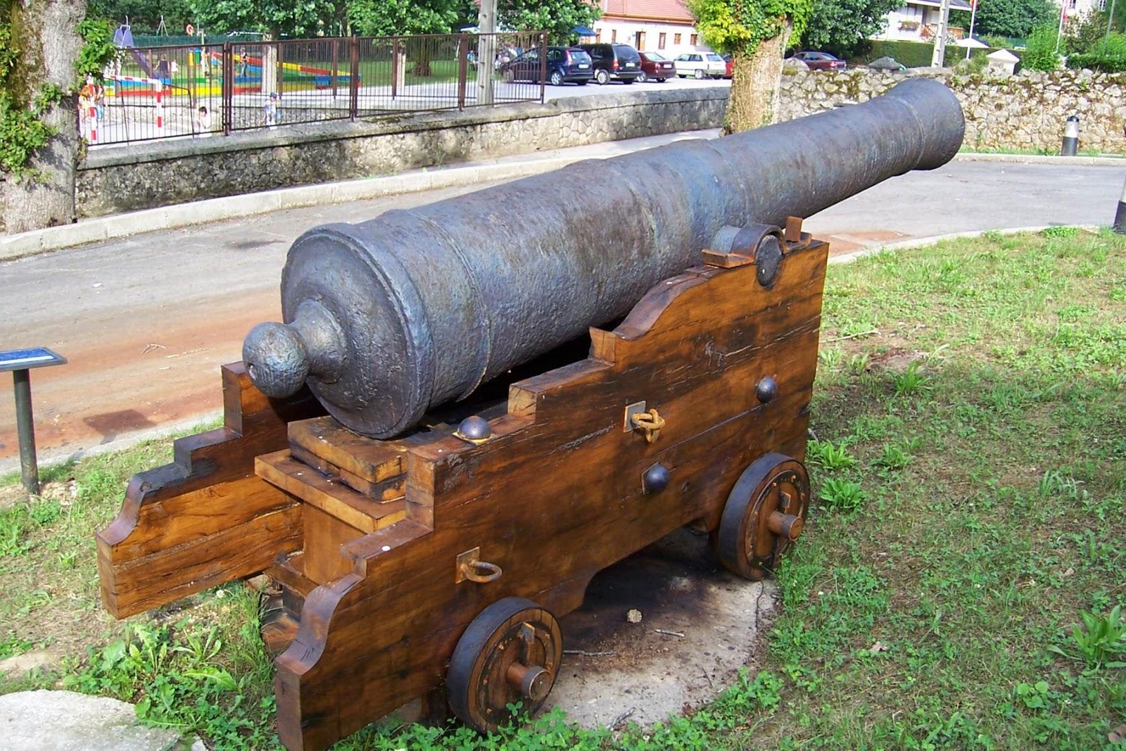 historia  pólvora  artillería