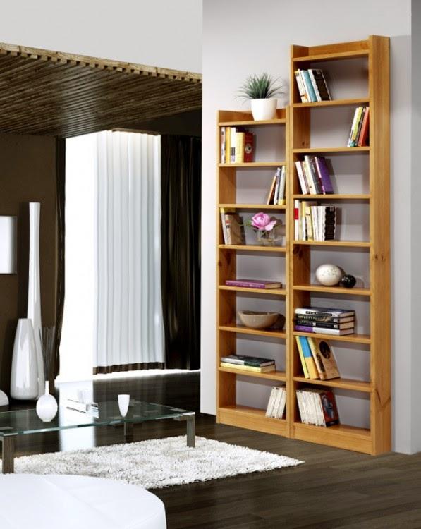 Construyendo su vivienda for Muebles para libros
