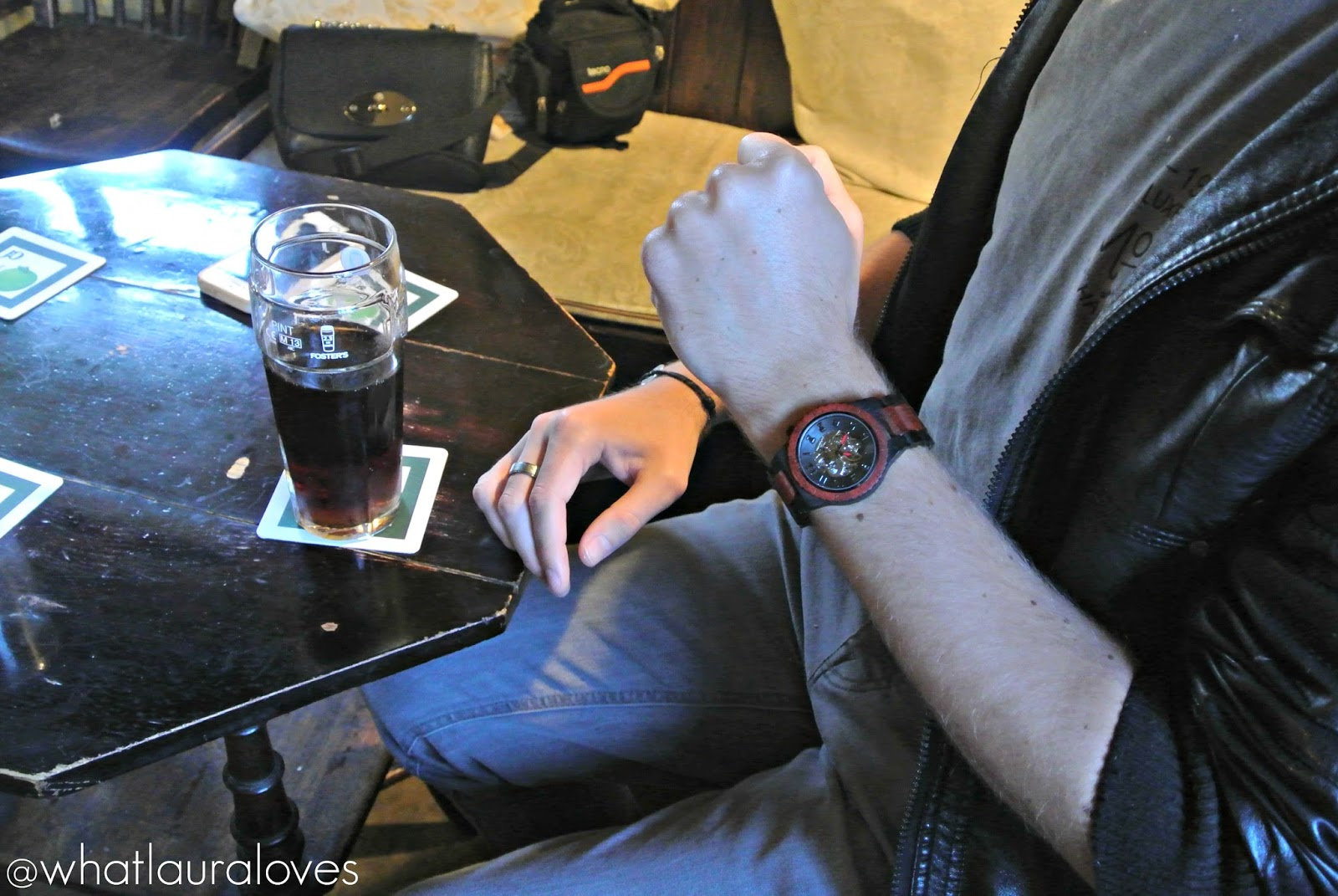 Jord Wood Watches Dover Ebony and Rosewood Watch Review Mens Christmas Gift