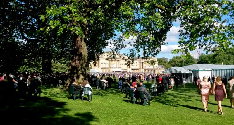 A garden party at Buckingham Palace 2014