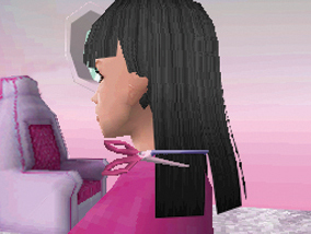 Barbie Hair Cutting Games on Barbie   Jet  Set   Style New Video Game Screenshots   Wii Ds Dsi