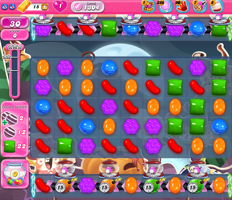 Candy Crush Saga 1304